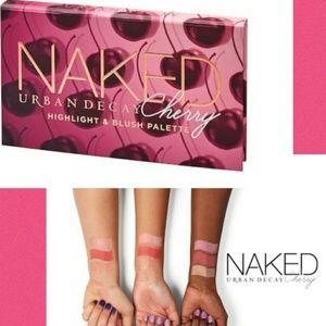 🍒Urban Decay Naked Cherry Blush Trio NIB